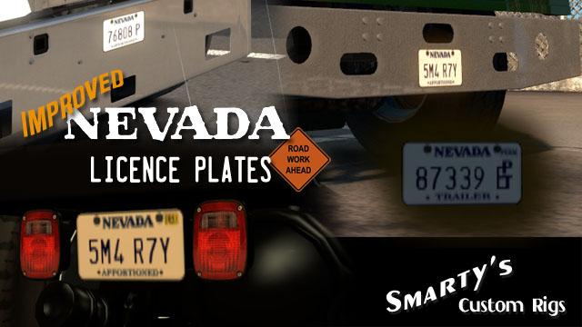 Rel improved licence plates 1 1 14 04 2018 scs for Nevada motor carrier division